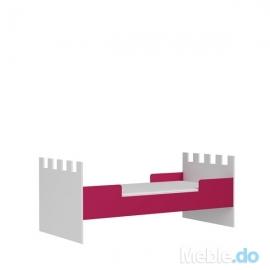 Łóżko ZAMEK - niskie (L-ZM-I)