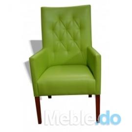 Fotel prosty 107 pikowany