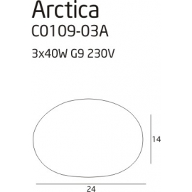 Plafon Arctica mały