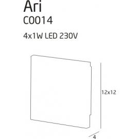 Plafon Ari LED