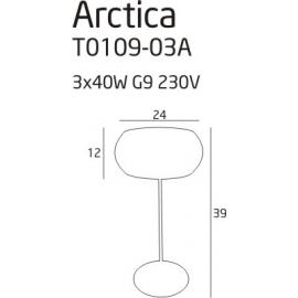 Arctica lampa biurkowa