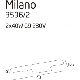 Milano 2 kinkiet