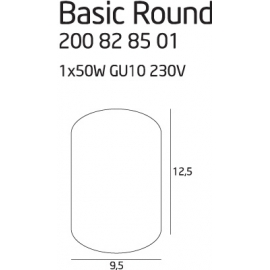 Basic Round Alu oprawa...