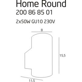 Home Round lampa zewnętrzna