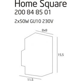 Home Square lampa zewnętrzna