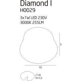 Diamond I oprawa podtynkowa