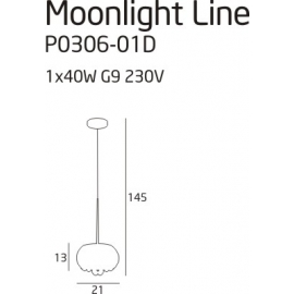Moonlight line lampa...