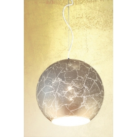 Old silver lampa wisząca