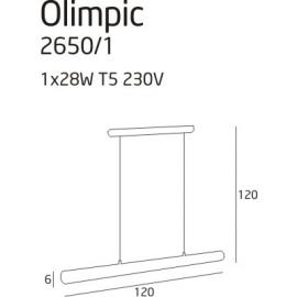 Olimpic lampa wisząca