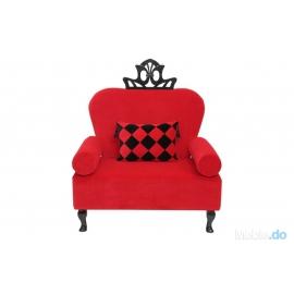 Fotel Artedeco z koroną
