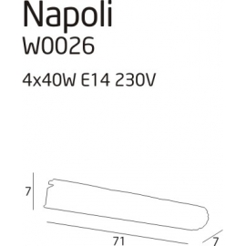 Napoli 4 kinkiet
