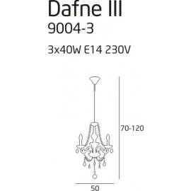 Dafne 3 lampa wisząca
