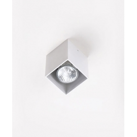 Pet Square plafon biały