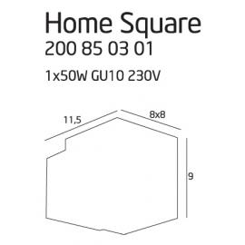 Home Square BK kinkiet mały...