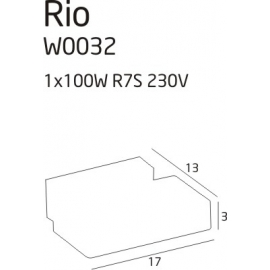 Rio 2 kinkiet