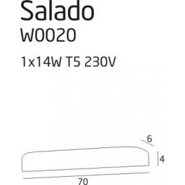 Salado 14W kinkiet