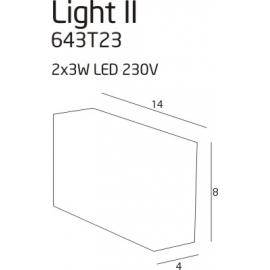 Light 2 lampa zewnętrzna