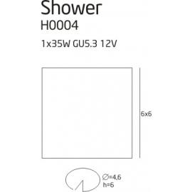 Shower oprawa halogenowa