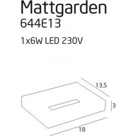 Mattgarden lampa zewnętrzna