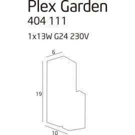 Plex Garden lampa zewnętrzna