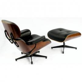 Fotel Lucera z podnóżkiem
