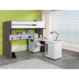 Łóżko piętrowe 90x200 biurko Rico