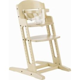 Krzesełko DANCHAIR drewno bielone