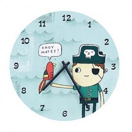 Zegar ścienny Piraci