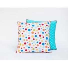 Poduszka dwustronna Kolorowe kropki