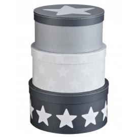 Pudełka Kartonowe Okrągłe granat