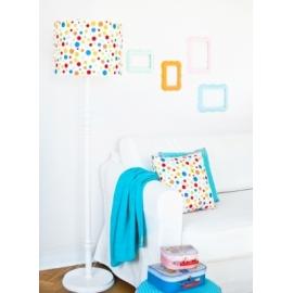 Lampa podłogowa Kolorowe kropki