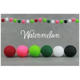 Cotton Ball Lights Watermelon