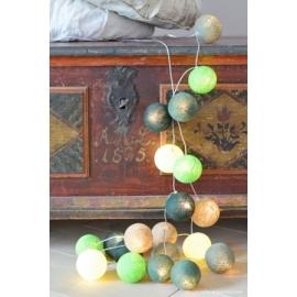 Cotton Ball Lights Deep forest