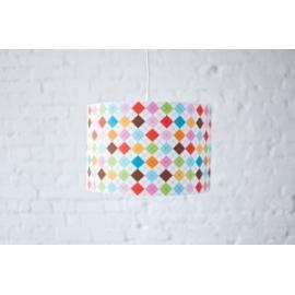 Lampa wisząca Kolorowa Kratka