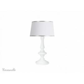 Lampka stojąca bianco
