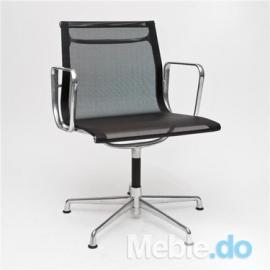 Fotel konferencyjny CH inspirowany EA108 siateczka chrom