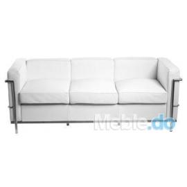 Sofa trzyosobowa Kubik inspirowana LC2