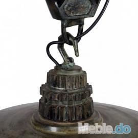 LAMPA FACTORIA 3 GREEN BROWN