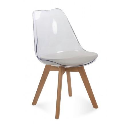 Krzesło FIORD trensparentny