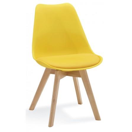 Krzesło FIORD żółty