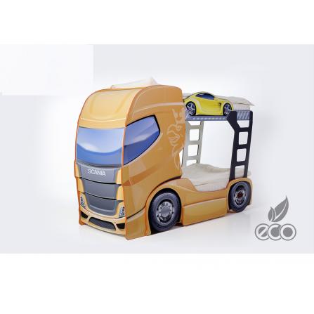 Łóżko dziecięce piętrowe ciężarówka Tir Duo Truck 2