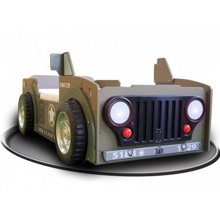 Łóżko dziecięce Jeep