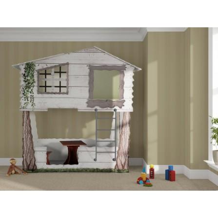 Łóżko dziecięce piętrowe...