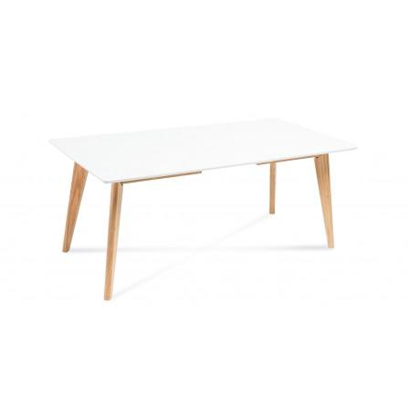 Stół Dante rozkładany biały 120 40/80
