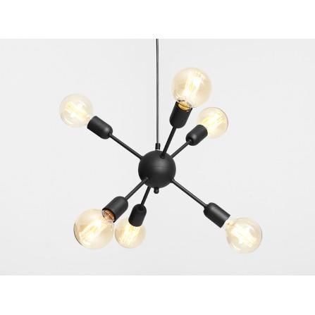 Lampa wisząca VANWERK 41 - czarna