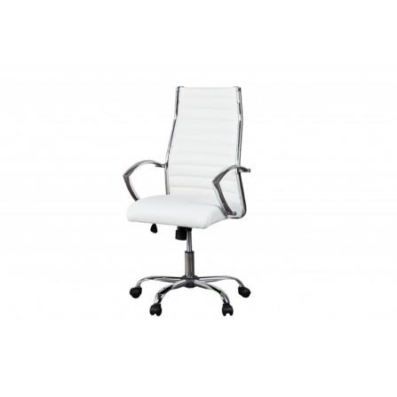 Fotel obrotowy DEAL biały