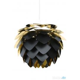 Lampa Silvia czarno-złota