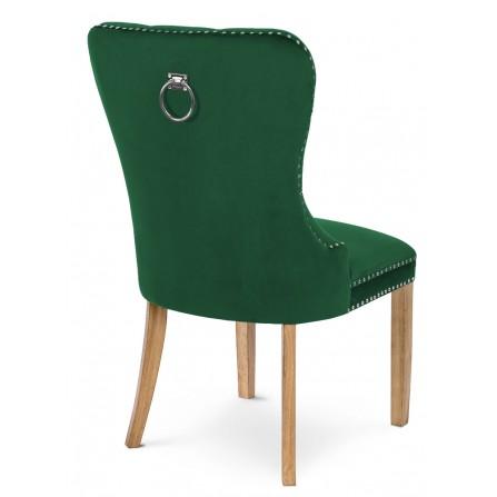 Krzesło MADAME II z kołatką glamour