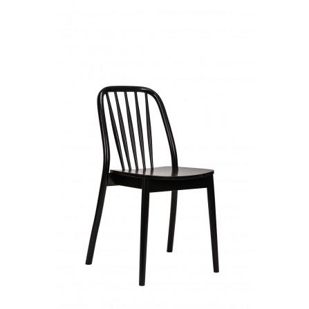 Krzesło Aldo drewniane 1070 kolor czarny paged meble