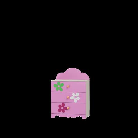 Komoda - FLOWER (KOD: KM-FL)